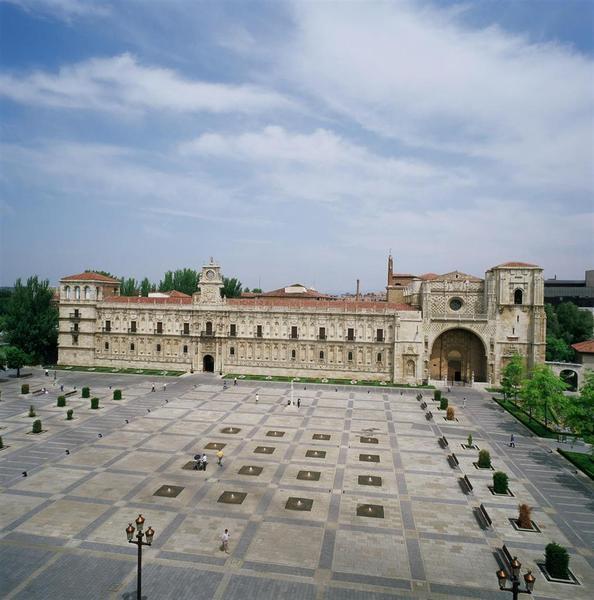General view Parador De Leon. San Marcos