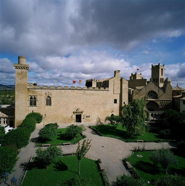 General view Parador De Olite