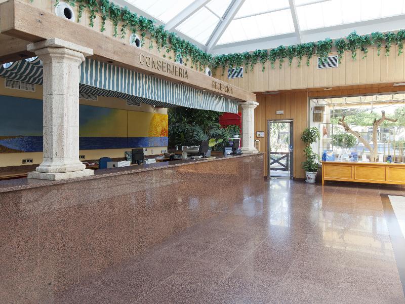 Lobby Playasol Spa