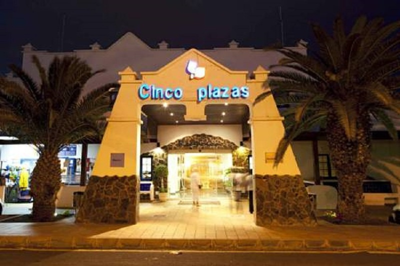 General view Cinco Plazas