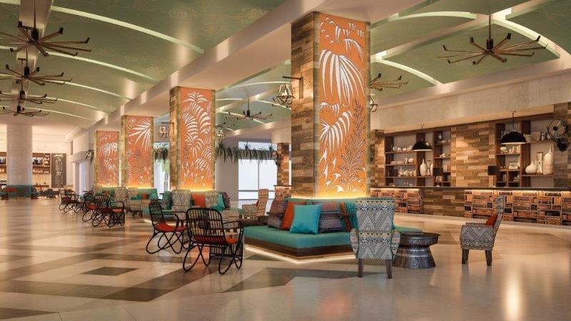 Lobby Panama Jack Resorts Cancun