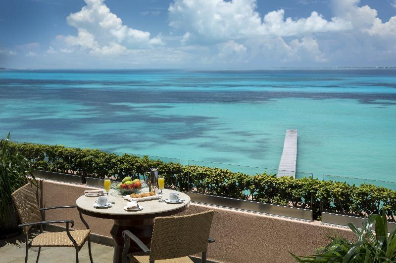 Terrace Grand Fiesta Americana Coral Beach Cancun Resort