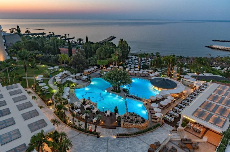 General view Mediterranean Beach