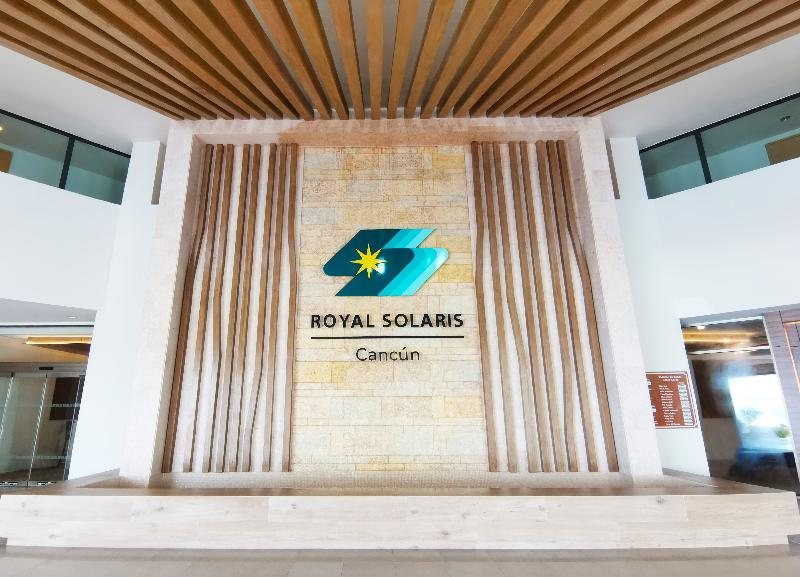 Lobby Royal Solaris Cancun Resort All Inclusive