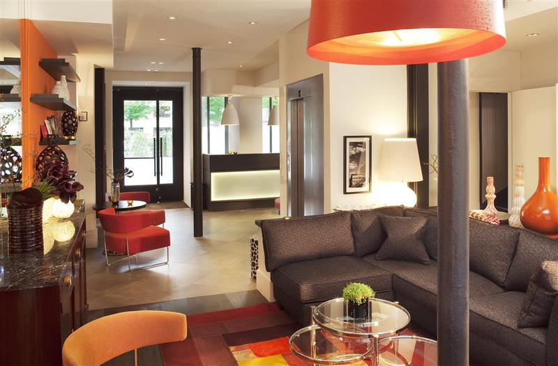 Lobby Hotel Marais Bastille