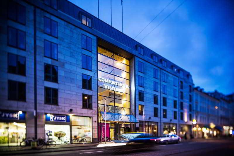 General view Comfort Hotel Vesterbro