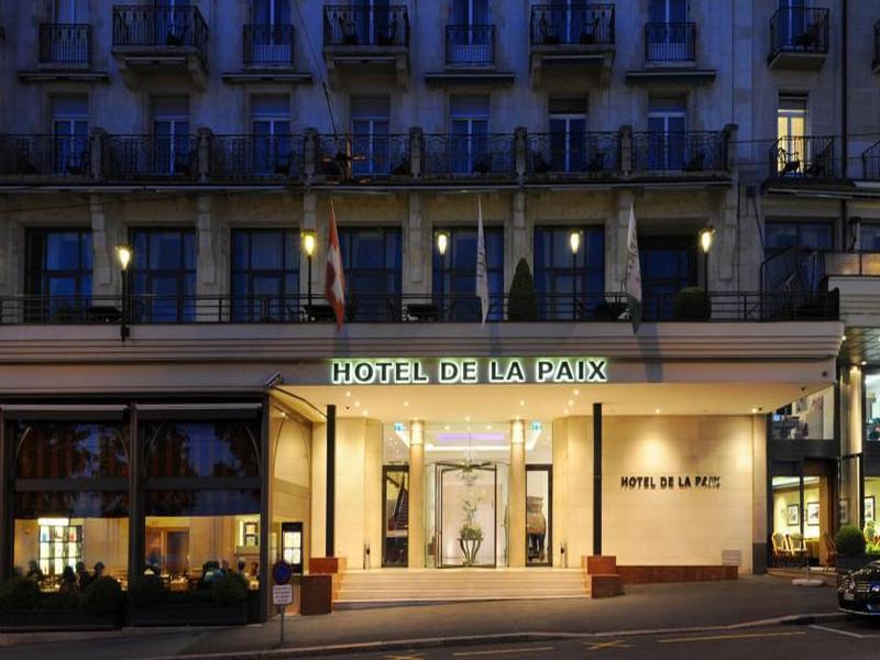 De la Paix Lausanne - Hotel - 8