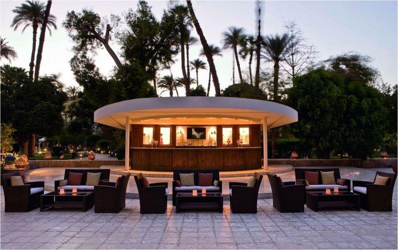 Terrace Pavillon Winter Luxor