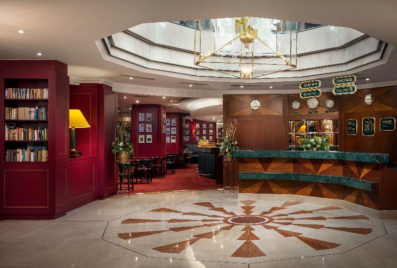 Lobby Art Nouveau Palace Hotel