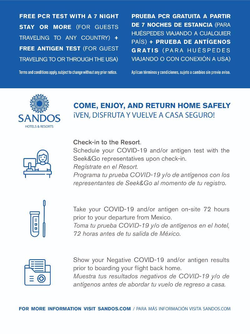 Lobby Sandos Cancun Lifestyle Resort