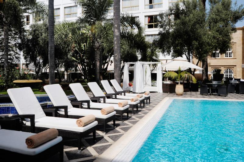 Pool La Tour Hassan
