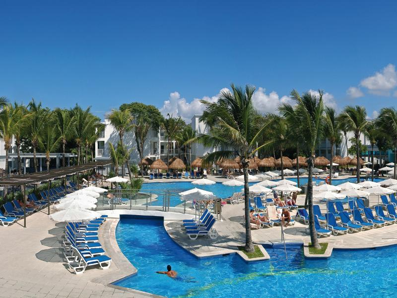 Pool Riu Yucatan All Inclusive
