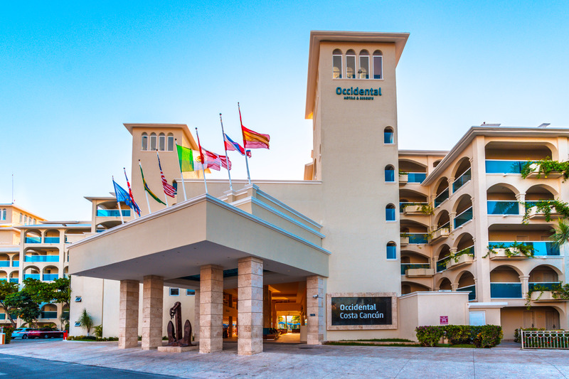 Lobby Occidental Costa Cancún