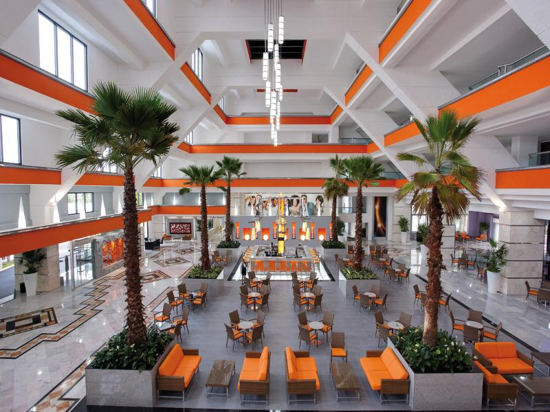 Lobby Riu Caribe All Inclusive