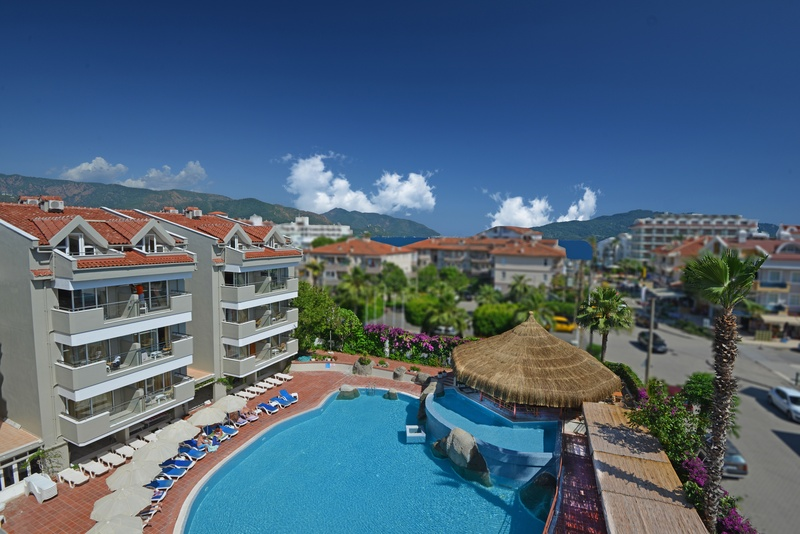 General view Marmaris Begonville Hotel
