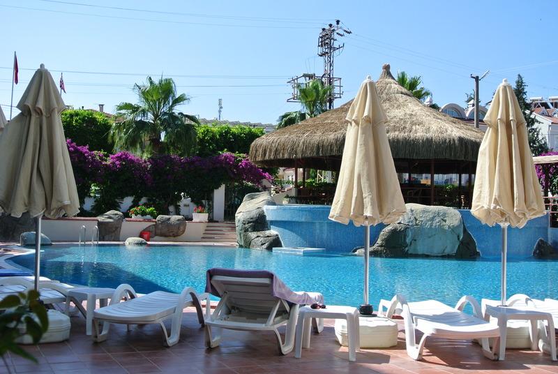 Pool Marmaris Begonville Hotel