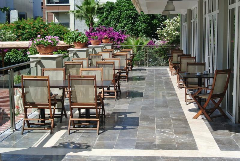 Terrace Marmaris Begonville Hotel
