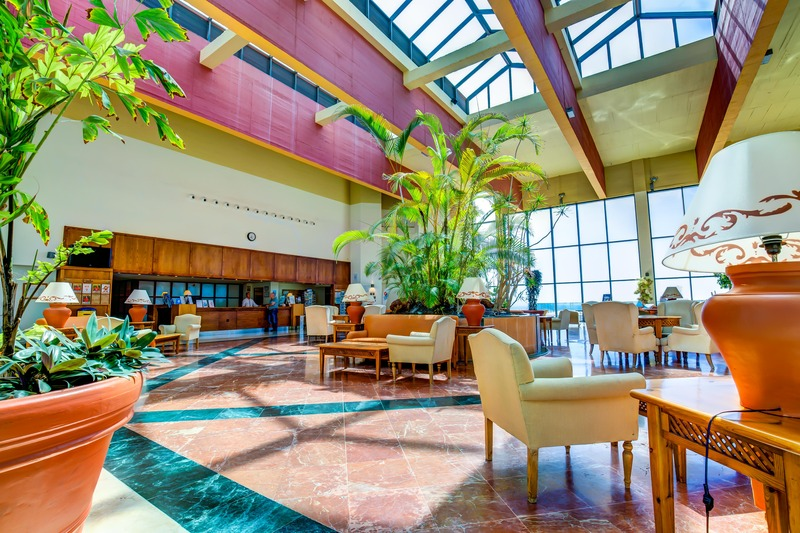 Lobby Sbh Club Paraiso Playa