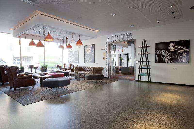 Lobby Scandic Malmen Stockholm