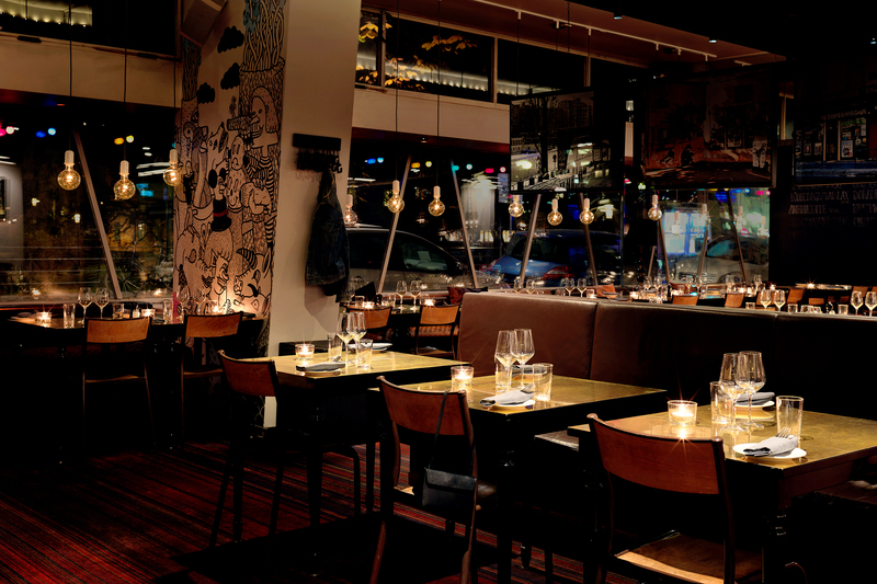Restaurant Scandic Malmen Stockholm
