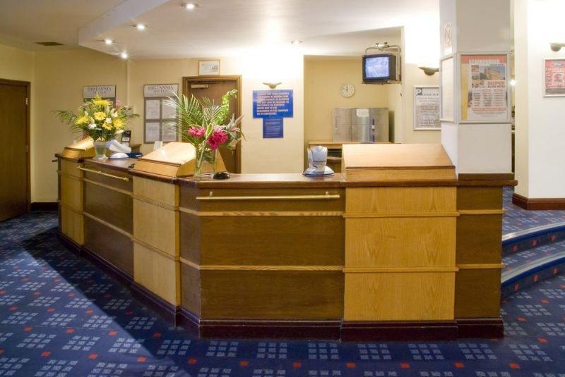 Lobby Britannia Hotel Manchester Airport