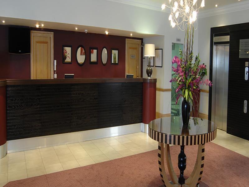 Lobby Hallmark Hotel Birmingham