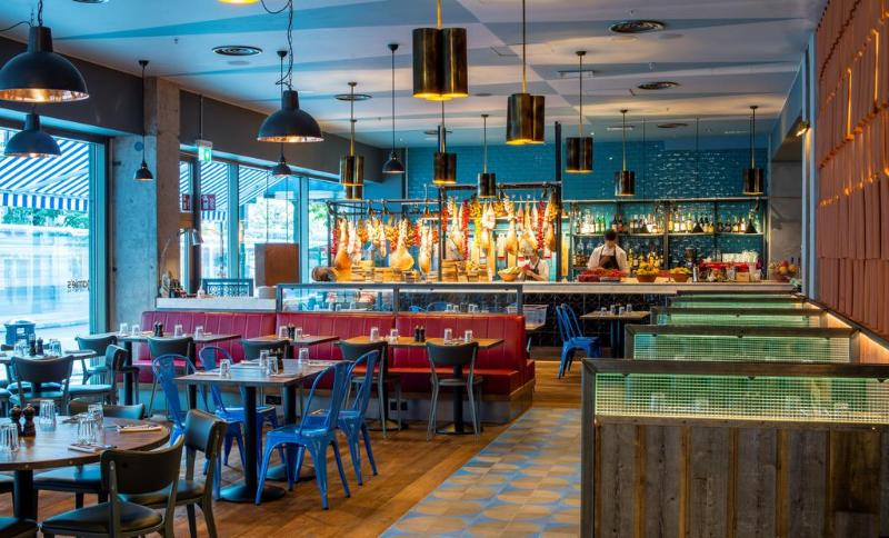 Restaurant Scandic Anglais Stockholm