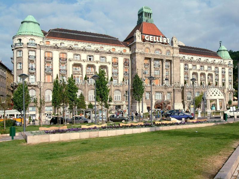 General view Danubius Hotel Gellert