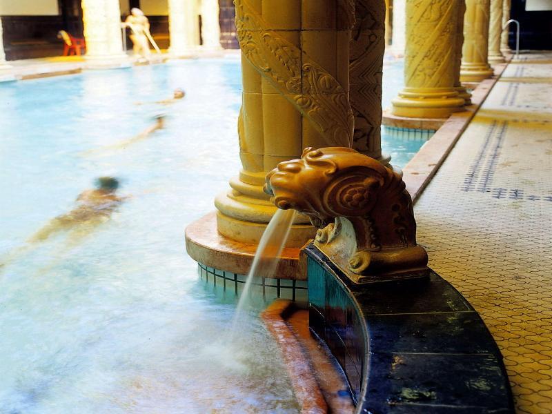 Pool Danubius Hotel Gellert