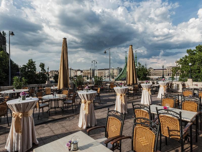 Terrace Danubius Hotel Gellert