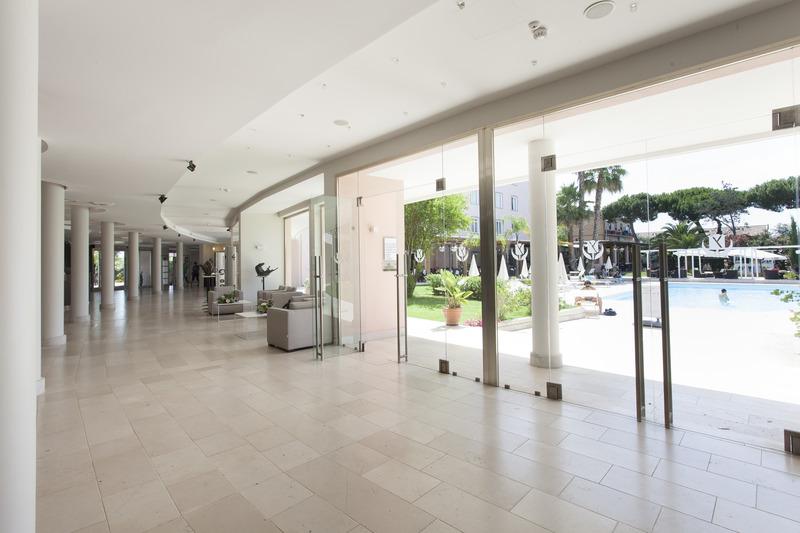 Lobby Golden Tulip Rome Airport Isola Sacra