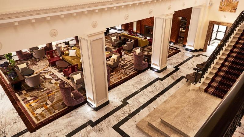 General view Grand Hotel Kempinski Riga