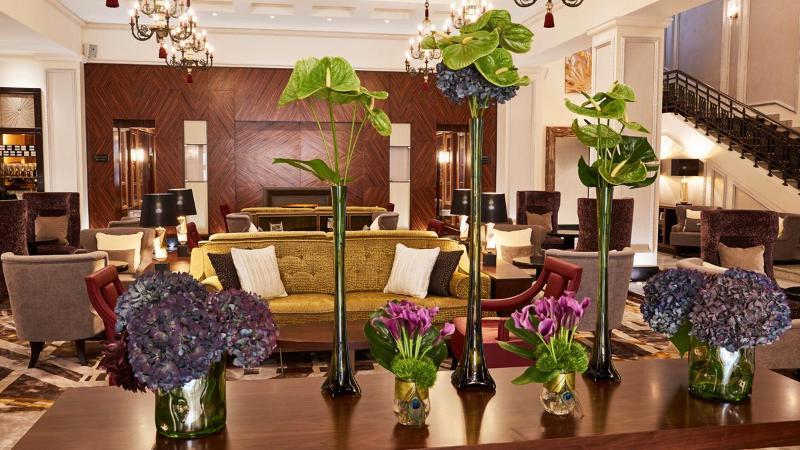 Lobby Grand Hotel Kempinski Riga