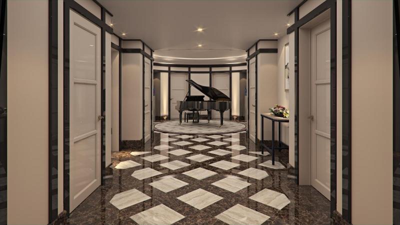 Room Grand Hotel Kempinski Riga