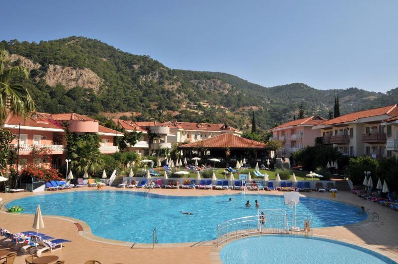 General view Oludeniz Turquoise Hotel