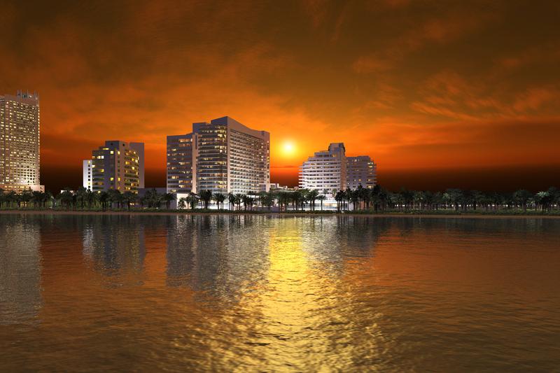 General view Eden Roc Miami Beach