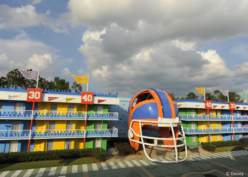 Hotel Disney All Star Sports Resort Foto 15