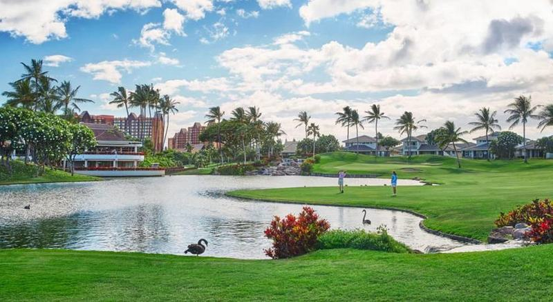 Map Location In Four Seasons Resort Oahu At Ko Olina Honolulu