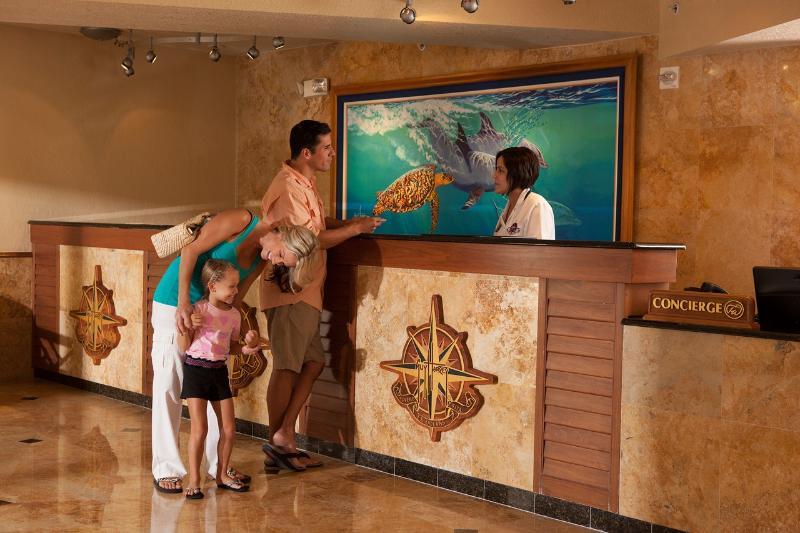 Lobby Guy Harvey Outpost, A Tradewinds Beach Resort