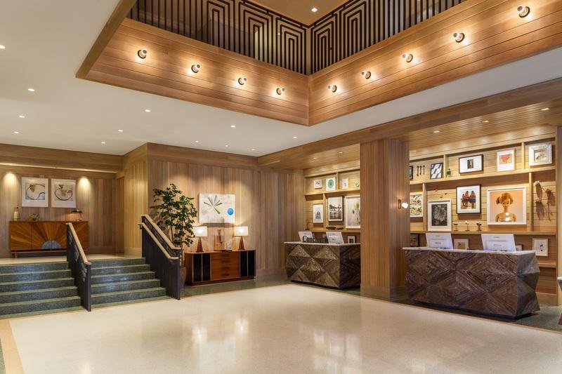 Lobby Marriott Stanton South Beach