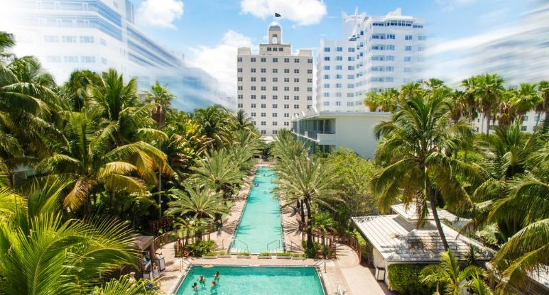 General view National Hotel South Beach