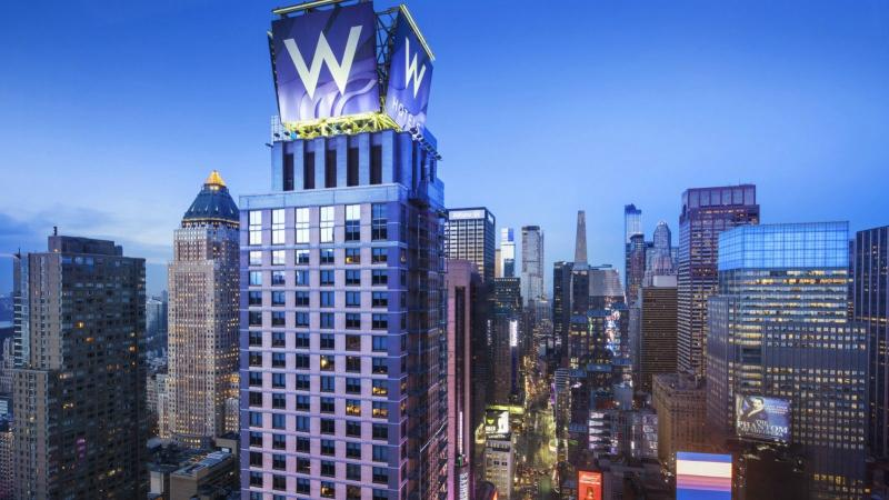 General view W Times Square