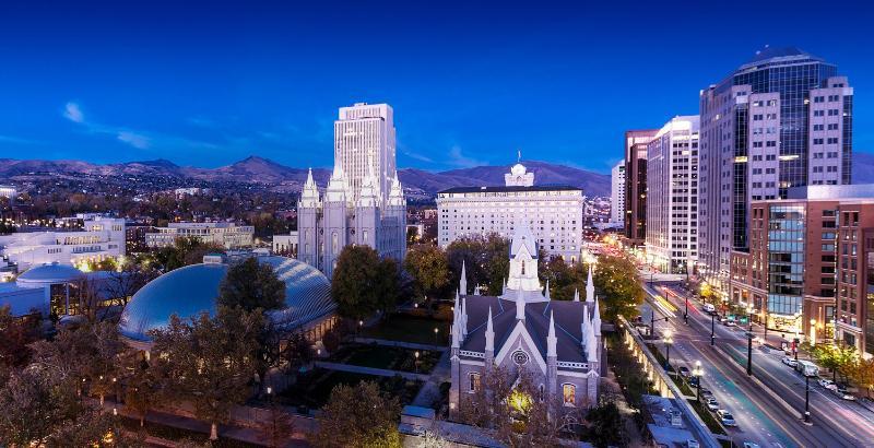 General view Salt Lake Plaza Hotel
