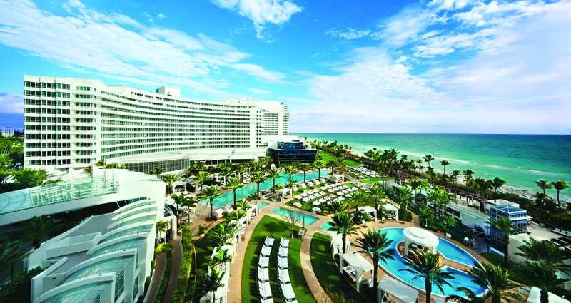 General view Fontainebleau Miami Beach