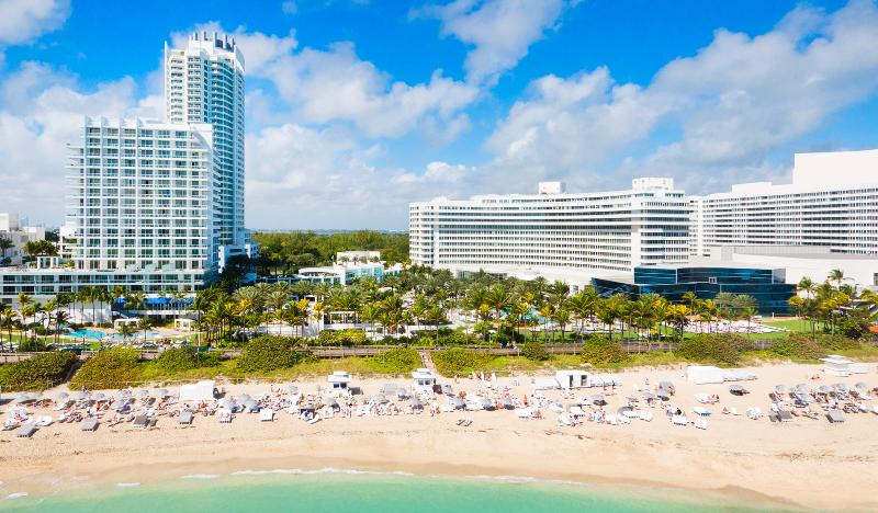 Beach Fontainebleau Miami Beach
