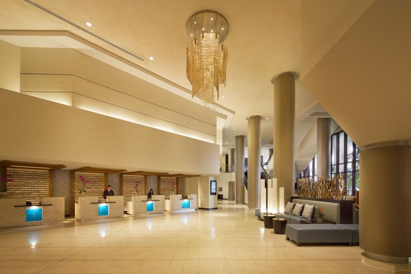 Lobby Miami Marriott Biscayne Bay