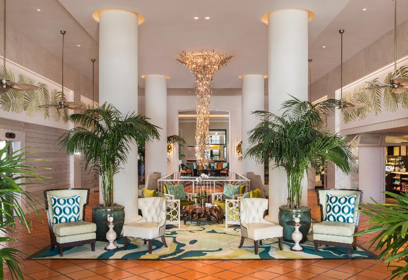 Lobby The Palms Hotel & Spa