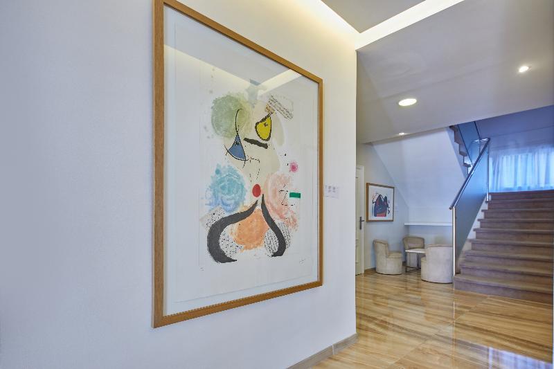 Lobby Hotel Joan Miró Museum