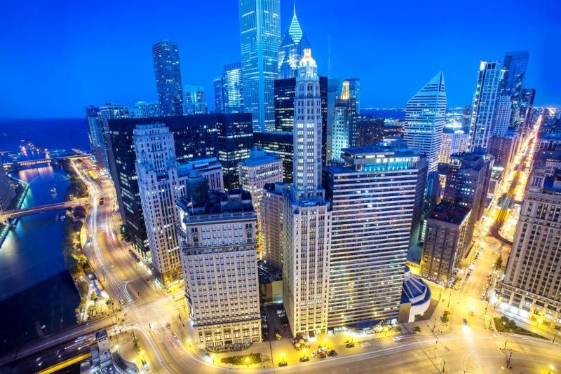 General view Wyndham Grand Chicago Riverfront