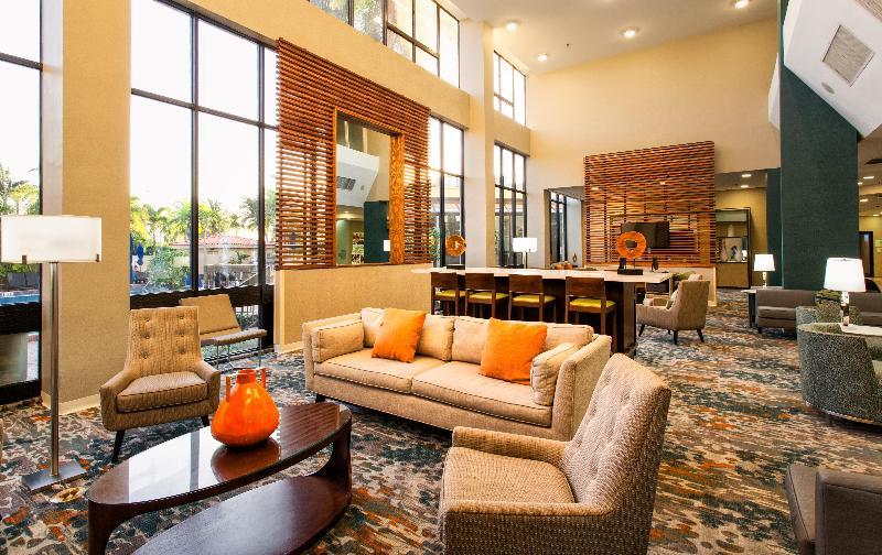 Lobby Holiday Inn Miami West-airport Area